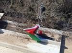 בלון עם דגל פלסטין אותר בעמק יזרעאל
