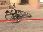 אופניו של נאור בזירת הפיגוע