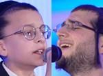 הזמר דובי מייזלעס וילד הפלא שלום בראדט