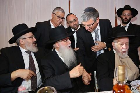 """חתונת נכד האדמו""""ר רבי יחיאל אבוחצירא"""