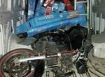 האופנוע שנתפס