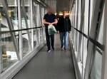 החשוד בשדה התעופה עם הסגרתו