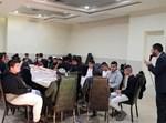 מסיבת חנוכה של ארגון 'דרכו' בדרום תל אביב