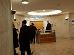 """נציגי 'אגודת ישראל' בכניסה למפגש המו""""מ"""