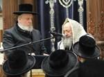 עצרת מספד על הרב רבינוביץ בלונדון