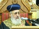 """הראשל""""צ הגאון הרב יצחק יוסף"""