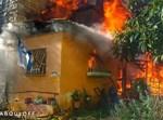 שריפה בבניין בקרית משה בירושלים