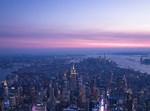 שמים כחולים בניו יורק. אילוסטרציה