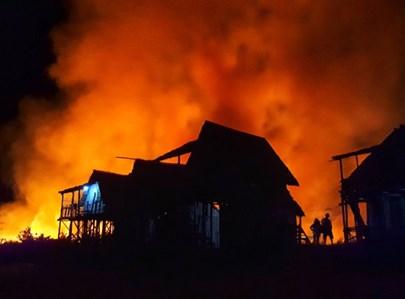 שריפה בבית. אילוסטרציה