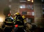 שריפה בבנין ברח' השבעה בכנען צפת