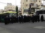 הפגנה ברחוב בר אילן בירושלים