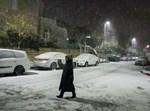 השלג בירושלים