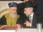 בהכתרת הרב זמיר לרב שכונת אתרוג בביתר. צילום: ארכיון