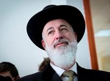 הרב הראשי לשעבר יונה מצגר