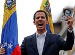 מנהיג האופוזיציה בונצואלה חואן גואידו