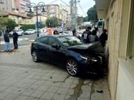 רכב נכנס בחברה קדידא ברחובות