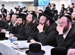 חסידים בכינוס אגודת ישראל