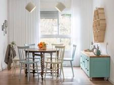 רהיטים צבעוניים מעוצבים