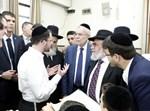 ביקור נשיא אוסטריה בישיבת בית שמואל