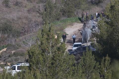 כוחות הביטחון הרבים בזירת האירוע הקטלנית