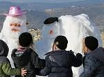 שלג בקרית בעלזא בהר יונה
