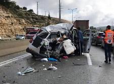תאונת קו 304 בכביש 443