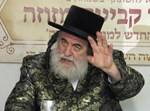 The Viznitzer Rebbe. Photo: The Haredi World