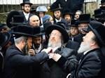 """הלווית הרבנית מביאלא ע""""ה בבני ברק"""