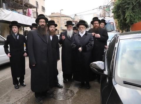"""הלווית הרבנית מביאלא ע""""ה בירושלים"""