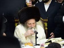 רבי יצחק מאיר מורגנשטרן בטיש פורים קטן