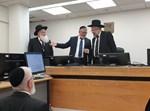 """השר וקנין בביקור בבית הדין הרבני בת""""א"""