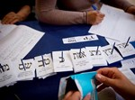 ספירת הקולות בבחירות 2015