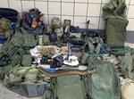 מחסן גרוטאות ובו ציוד צבאי ונשק