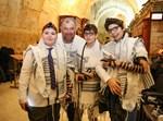 בני נוער מאירופה במסע בר מצווה