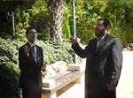 אברימי גולדשטיין עם שאול חי כהן