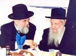 מרן הרב וואזנר עם הרב ליפשיץ