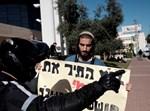 הפגנה למען האסירים. צילום: תומר נמבורק, פלאש 90