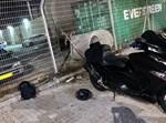 אופנוע שנגנב מתחנת המשטרה בעכו