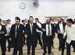 רבני הישיבה בריקוד ההצלחה
