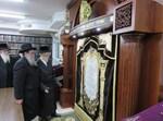 הרבי מסערט ויז'ניץ בבית מדרשו בירושלים