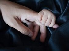יד של תינוק