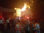 השרפה בבניין