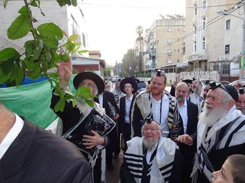 """גדולי ישראל בברכת האילנות - ב' ניסן תשע""""ט"""