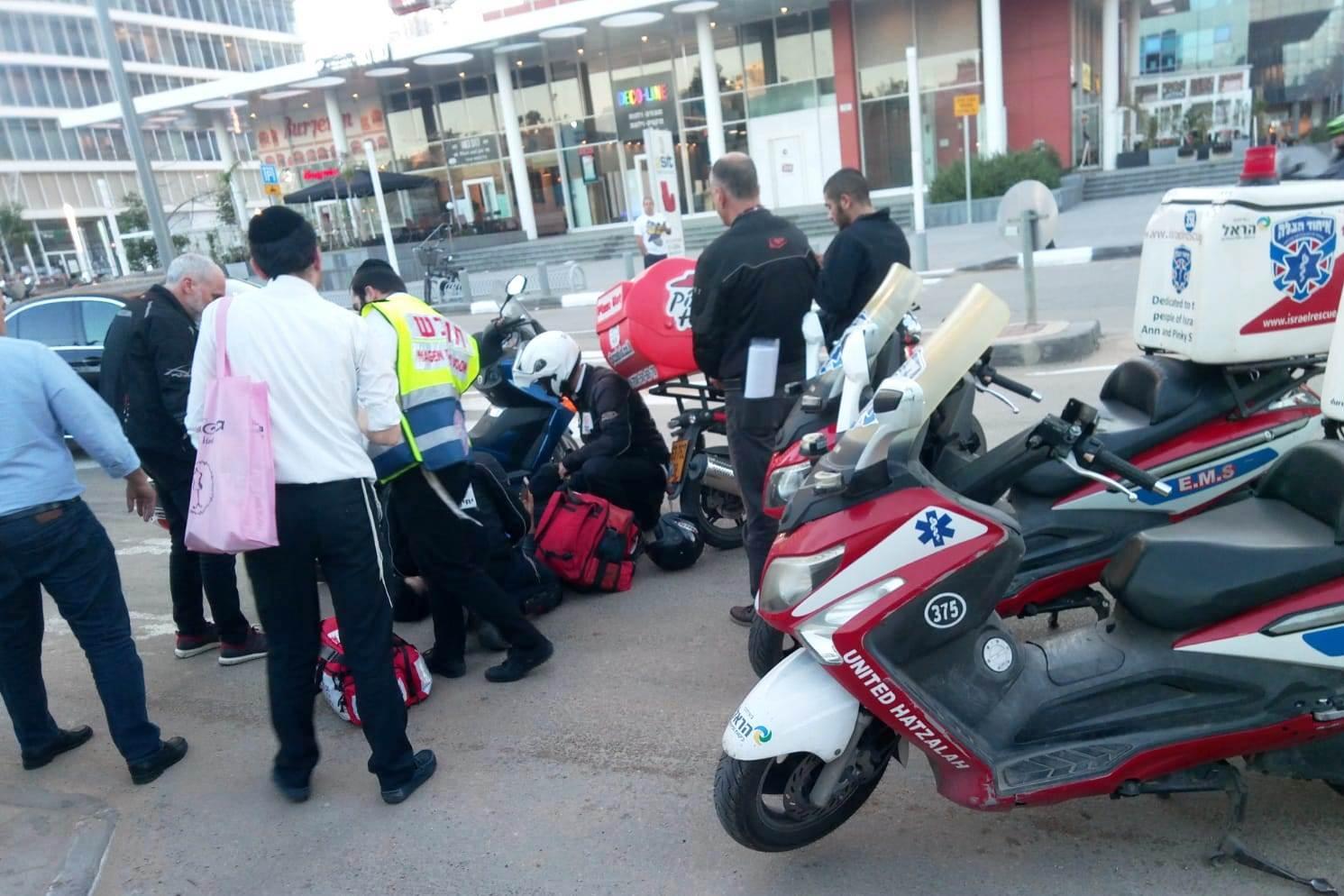 תאונת אופנוע בבני ברק