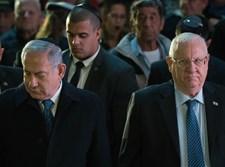 """נתניהו וריבלין בהלווית זכריה באומל הי""""ד"""