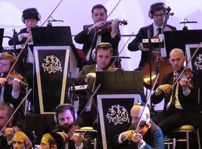 חלק מנגני תזמורת פריילך