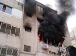 שריפה בדירה בחיפה