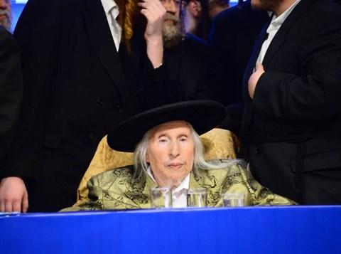 """הרבי מקאליב זצ""""ל בכינוס אגודת ישראל"""