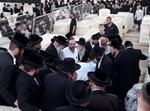 """הקבורה של הרבי מקאליב זצ""""ל"""