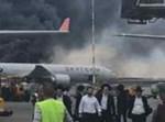 המטוס הרוסי לאחר שנחת